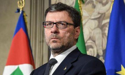 """Giorgetti: """"Percorso per l'Autonomia complicato, ma si può fare"""""""