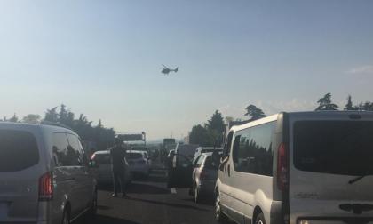 Chiuse le entrate in A4 tra Grumello e Ospitaletto per incidente