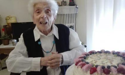 Luigia Colombo ha spento 105 candeline