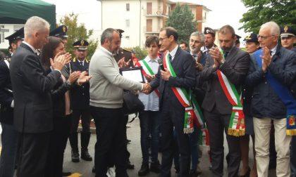 Intitolata la palestra all'appuntato Renato Barborini, medaglia d'oro al valor civile FOTO