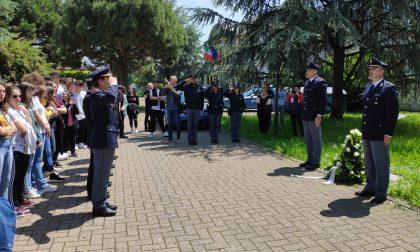 Treviglio con la sua Polizia ricorda la Strage di Capaci e Antonio Montinaro FOTO