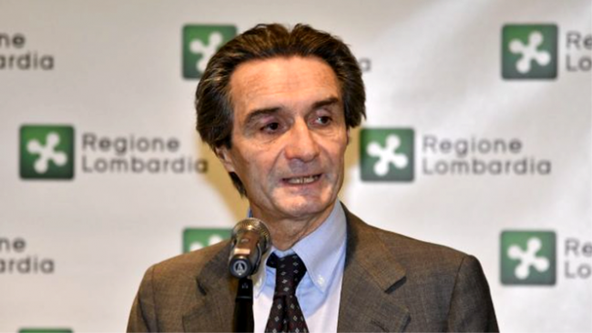 """Autonomia della Lombardia, Fontana: """"Pretendo una risposta"""""""