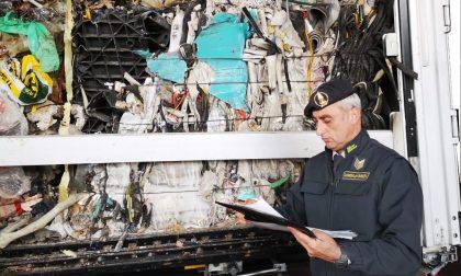 Sequestrate 27 tonnellate di rifiuti illegali