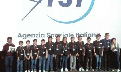 """Il team """"Io Robot"""" premiato dall'Agenzia spaziale italiana"""