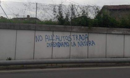 Manifestazione contro la Treviglio-Bergamo, Imeri condanna le scritte sui muri