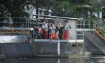 Canoa ribaltata nell'Adda, ricerche sospese per il buio FOTO