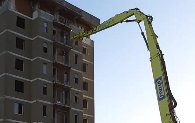 demolizione delle torri di zingonia