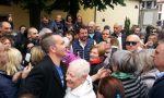 Matteo Salvini a Brembate, tra bagno di folla e contestazione FOTO