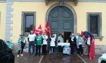 A Fara scatta lo sciopero dei dipendenti comunali VIDEO FOTO