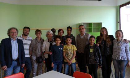Inaugurata alle medie la nuova aula per l'alfabetizzazione FOTO