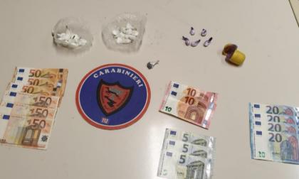 Arresto per spaccio a Osio Sotto, sequestrati cocaina e contanti