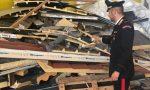 Rifiuti pericolosi: scoperto deposito abusivo nel Cremasco FOTO