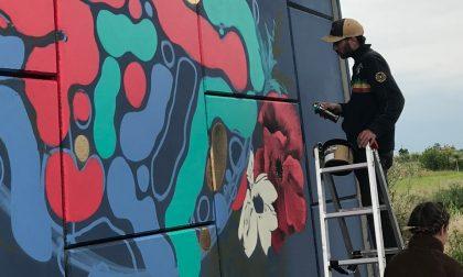 """La street art colora i """"Cavalca - via"""" tra Arzago e Casirate"""