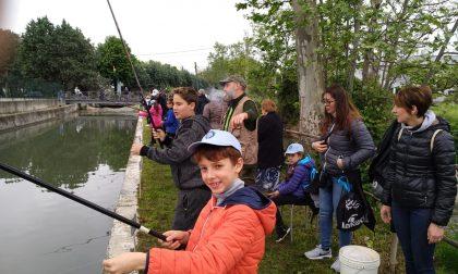 Gran successo la gara di pesca di Trescore Cremasco FOTO