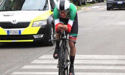 Andrea Piccolo vince la cronometro di Romanengo