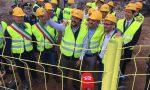 Salvini a Zingonia: selfie sulla ruspa, ma il primo colpo è contro il Vaticano  – LA DIRETTA FOTO VIDEO