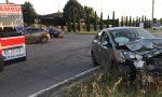 Schianto al semaforo a Vidalengo, feriti due giovani