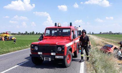 Incidente sulla Sp 90 Rivolta - Pandino, ferita una giovane FOTO