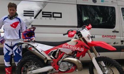 Rubato il furgone del campione di enduro Simone Albergoni, a bordo sei moto