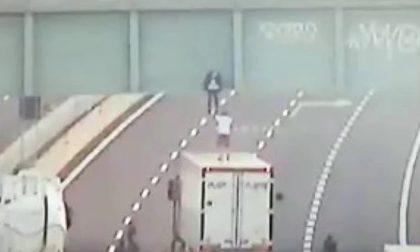 Camionista salva aspirante suicida di 19 anni