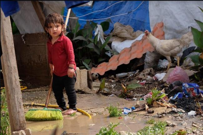 Da Caravaggio al Libano, il racconto del campo profughi FOTO
