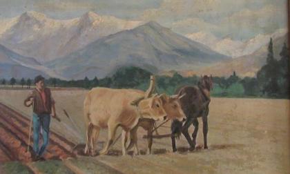 In mostra le opere del maestro Castelli: celebrata la Brignano che fu