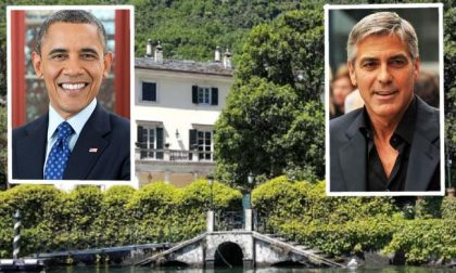 Gli Obama a Laglio da George Clooney