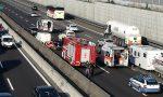 Grave incidente in A4, coinvolto un motociclista: traffico bloccato