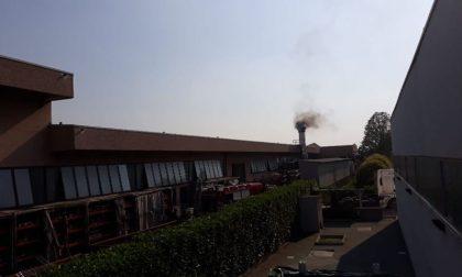 Incendio a Pagazzano, arrivano i pompieri