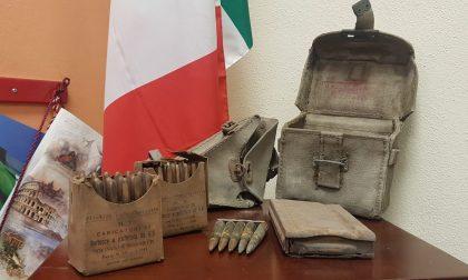 In una soffitta spuntano munizioni della Seconda guerra mondiale