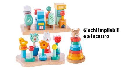 Rischio soffocamento per i bimbi: ALDI richiama giochi impilabili a incastro