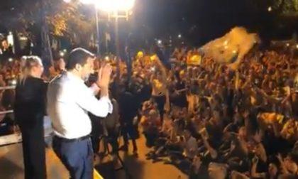 Si struscia contro 16enne al comizio di Salvini, arrestato 50enne