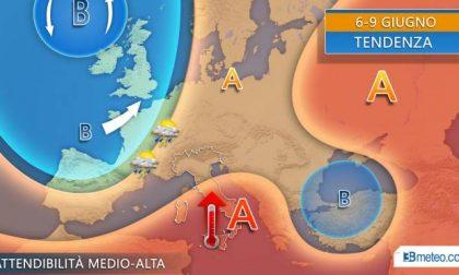 Da giovedì temporali di calore in agguato al nord PREVISIONI METEO