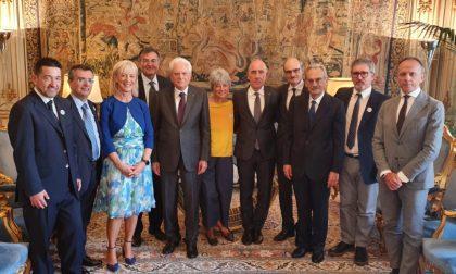 Il primario dell'Ospedale Maggiore di Crema ricevuta dal Presidente della Repubblica Sergio Mattarella
