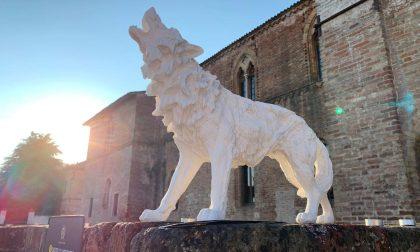 Cena in bianco a Pandino| rubata una statua dell'imprenditore Silva