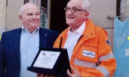 Premiato Ettore Bensi, una vita da volontario della Croce bianca