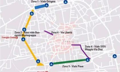 """Treviglio viale Ortigara, il progetto:  """"Controviale  a senso unico"""""""