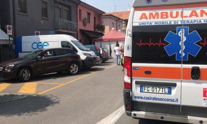 Carambola in centro a Castel Rozzone, due feriti FOTO