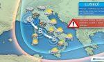 Meteo: temporali e nubifragi sul Nord Italia, temperature in forte calo