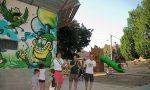 Murales colorati per abbellire l'acquedotto comunale