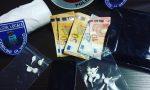 Arresto per droga a Pognano, addosso cocaina e contanti