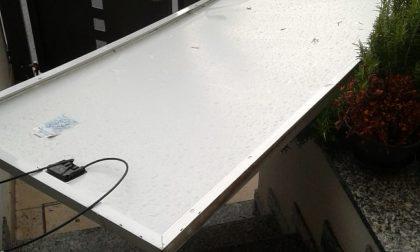 Bufera a Covo, via i pannelli solari delle scuole medie e dalle case