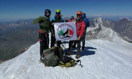 Monte Kazbec: il cremasco Filippo Ruffoni a 5 mila metri