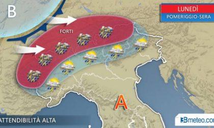 METEO: Tornano i temporali al Nord, martedì sera anche nella Bassa