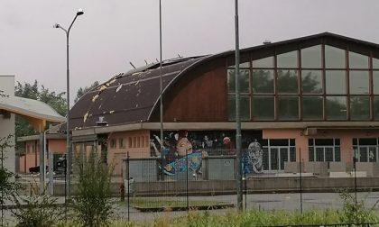 BluBasket, salta il piano B: distrutto anche il tetto del Palazzetto dello Sport di Spirano