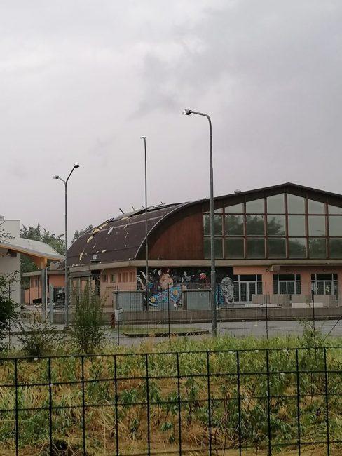 Il palazzetto dello Sport di Spirano (foto da InfoSpirà)