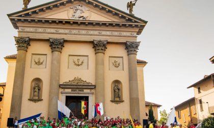 A Pontirolo inaugurato il palio di San Michele, via ai giochi