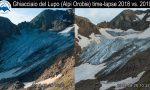 VIDEO SHOCK: ecco quanto si scioglie un ghiacciaio in Lombardia