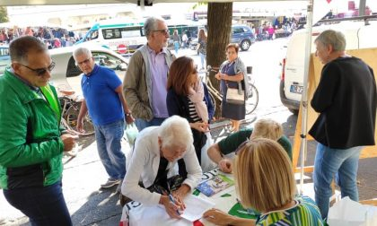 Ius Culturae, Pd in piazza a Treviglio per raccogliere le firme