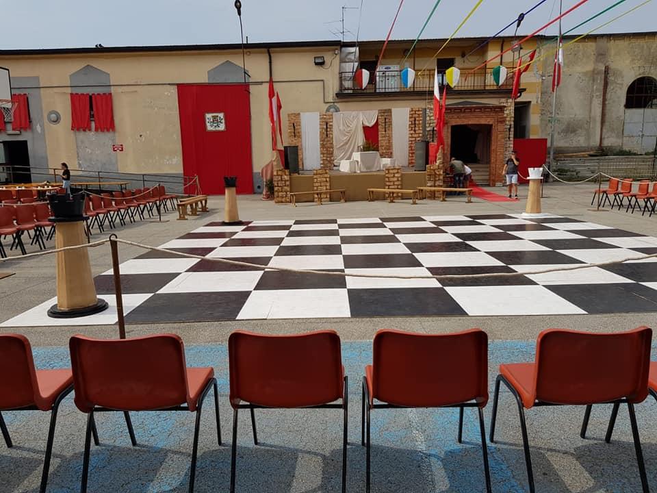 scacchi viventi